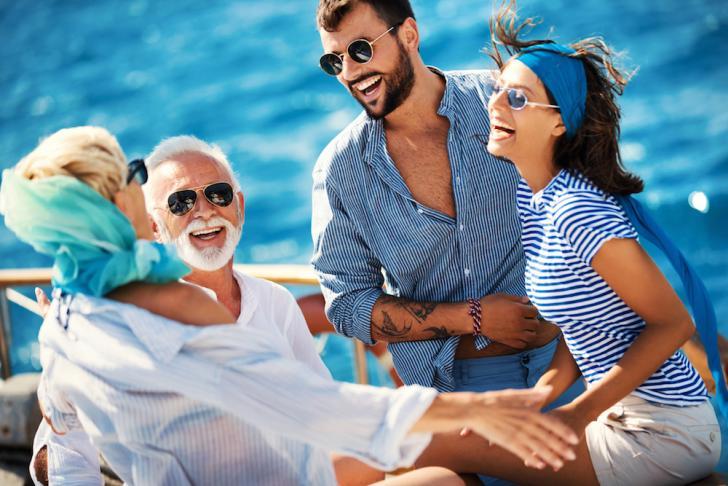 People aboard a Yacht in Durban